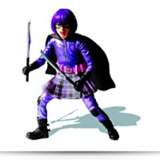 Specials Kickass Hit Girl 12 Action Figure