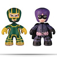 Kickass Series 1 Mezitz 6 Figure Set
