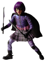 Kickass 12 Inch Action Figure Hit Girl